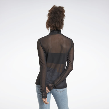 Women Classics Black Classics Turtleneck Shirt