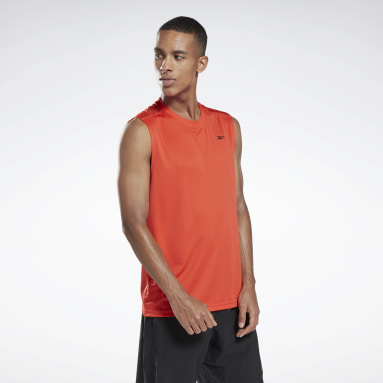 Heren Wielrennen Workout Ready Sleeveless Tech T-shirt