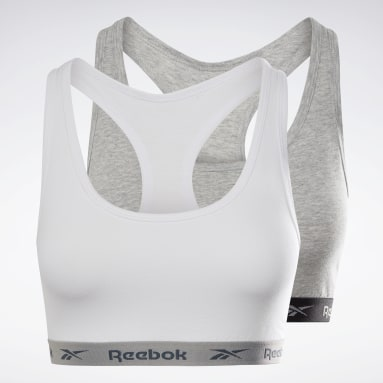 Crop top Reebok Frankie Blanc Femmes Fitness & Training