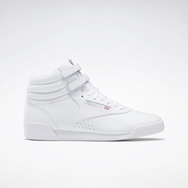 Zapatillas Freestyle Hi Blanco Niña Classics