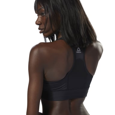 Top Deportivo Re Tough Bra Negro Mujer Running