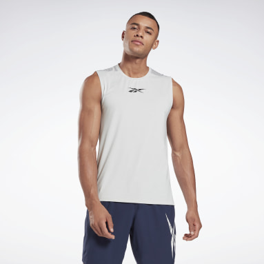 Men Cycling Workout Ready Activchill Sleeveless T-Shirt