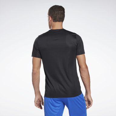 Remera Workout Ready Graphic Negro Hombre Fitness & Training