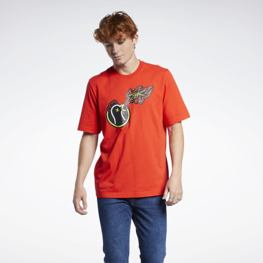 T-shirt Hot Ones Rosso Classics