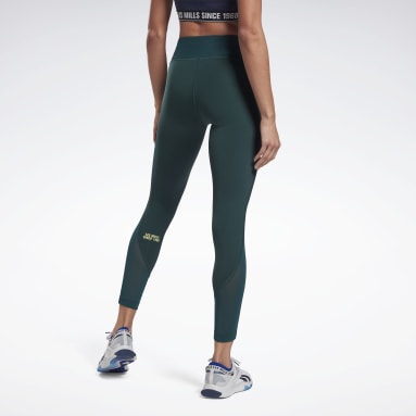 Legging Les Mills® Lux Perform Green Femmes Studio