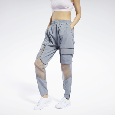 Women Classics Grey Wonder Woman Track Pants