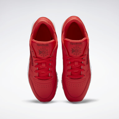 Classic Leather Rojo Mujer Classics