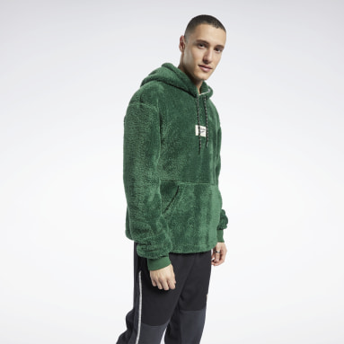 Men Classics Green Classics Winter Escape Hoodie
