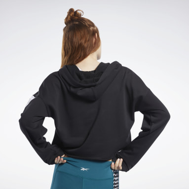 Women Fitness & Training Black Meet You There Hoodie