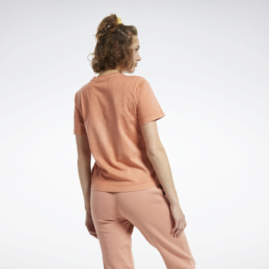Women Classics Brown Classics Washed Tee