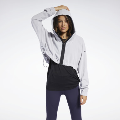 Giacca Crop Donna Fitness & Training