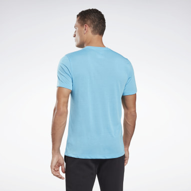 T-shirt imprimé Series Speedwick Turquoise Hommes Fitness & Training