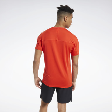 Men Training Red ACTIVCHILL Move Tee