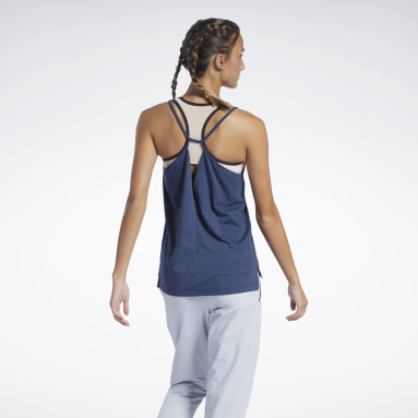 Women Studio Blue Les Mills® Restorative Tank Top