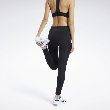 Legging Workout Ready Mesh Preto Mulher Fitness & Training
