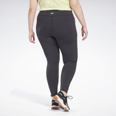 Women Studio Black Lux Leggings (Plus Size)