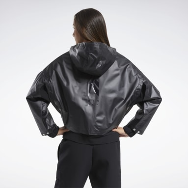 Women Fitness & Training Black Edgeworks Jacket