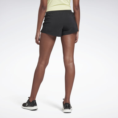 Short Run Essentials - 7,5 cm Noir Femmes Running