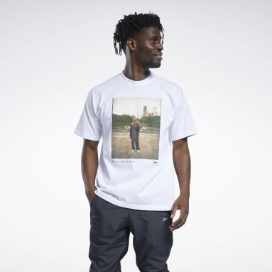 T-shirt Iverson Philly City Skyline Photography Hommes Classics