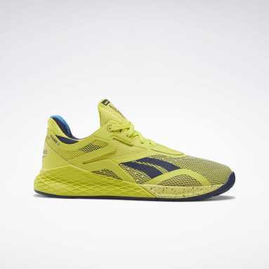 Women Cross Training Yellow Reebok Nano X Shoes