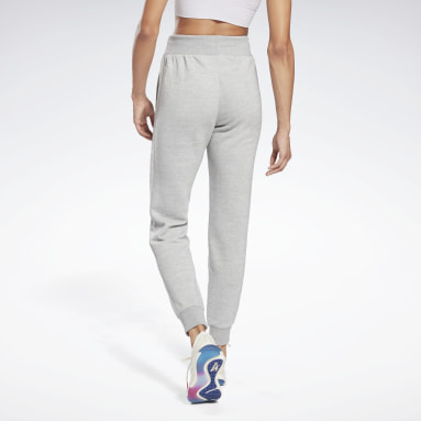 Dames Fitness & Training Grijs Textured Broek