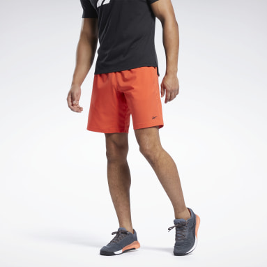 Men Training Red Workout Ready Shorts