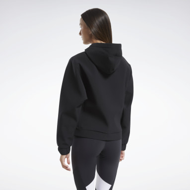 Women Hiking Black Edgeworks Hoodie