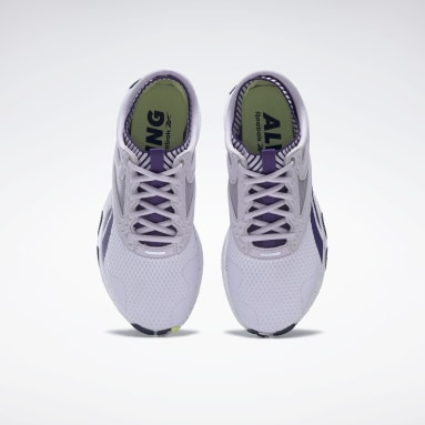 Women Training Purple Reebok HIIT Shoes