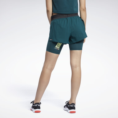 Short Les Mills® Lightweight Verde Donna Studio