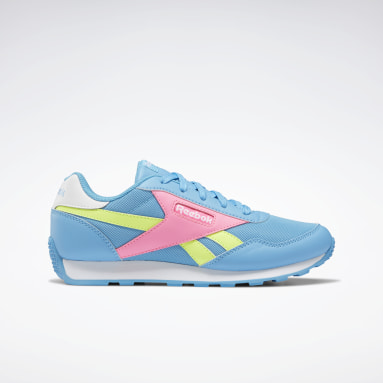 Girls Classics Turquoise Reebok Royal Rewind Run Shoes