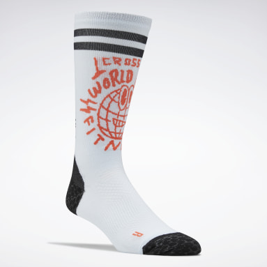 Cross Training Blue CrossFit® Crew Socks