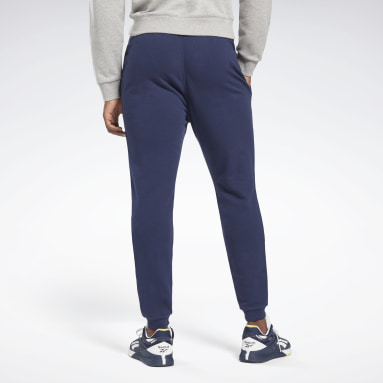 Men Fitness & Training Blue Reebok Identity Joggers
