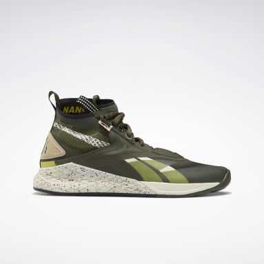 Men Cross Training Green Nano X Unknown Shoes