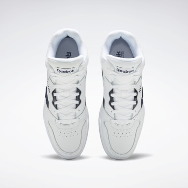 Men Classics White Reebok Royal BB4500 Hi 2 Shoes
