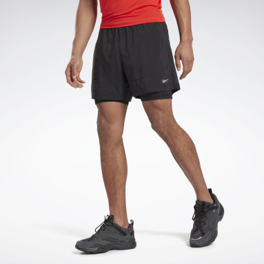 Shorts Running Essentia Two-in-One Negro Hombre Running
