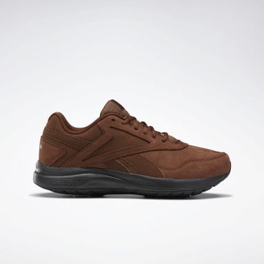 Men Walking Brown Walk Ultra 7 DMX MAX Extra-Wide Men's Shoes