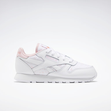 Girls Classics White Classic Leather Shoes