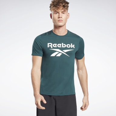Men Cross Training Green Workout Ready Supremium Graphic Tee