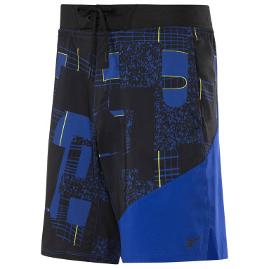 Men Training Blue LES MILLS® Epic 9-Inch Lightweight Shorts