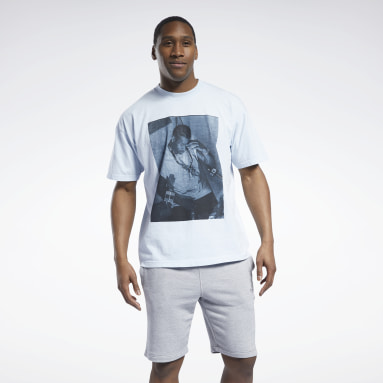Men Classics Allen Iverson Post Game T-Shirt