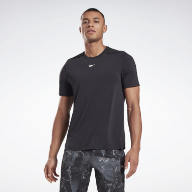 Men Fitness & Training Black Activchill Move T-Shirt