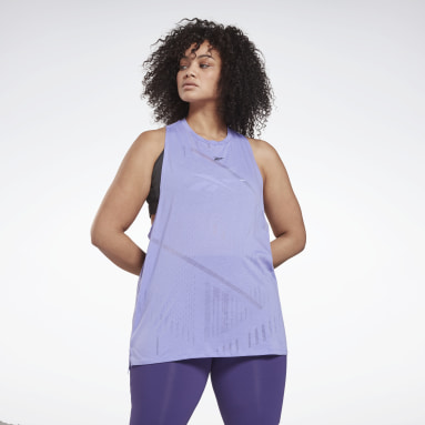 Women Cycling Burnout Tank Top (Plus Size)
