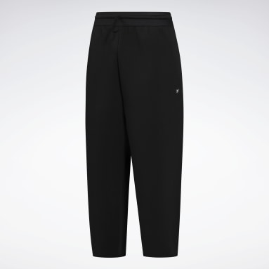 Women Studio Black Studio Fleece Pants (Plus Size)