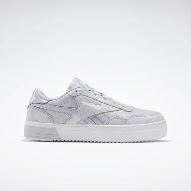 Women Classics Grey Reebok Royal Techque T Bold Shoes