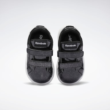 Girls Classics Black Reebok Royal Complete CLN 2 Shoes