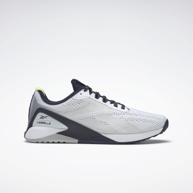 Men Cross Training White Nano X1 Men's Training Shoes Les Mills®