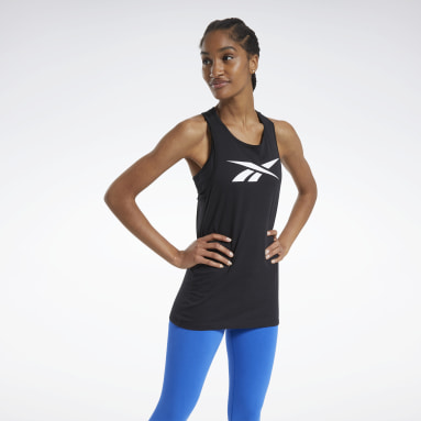 Canotta Training Essentials Graphic Nero Donna Fitness & Training