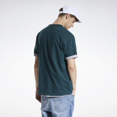 Classics Green Classics Knit Short Sleeve T-Shirt