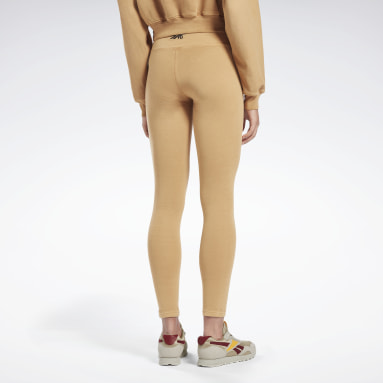 Kvinder Fitness & Training Beige VB Travel Tights
