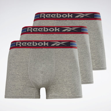 Men Fitness & Training Grey Reebok Trunks Pete